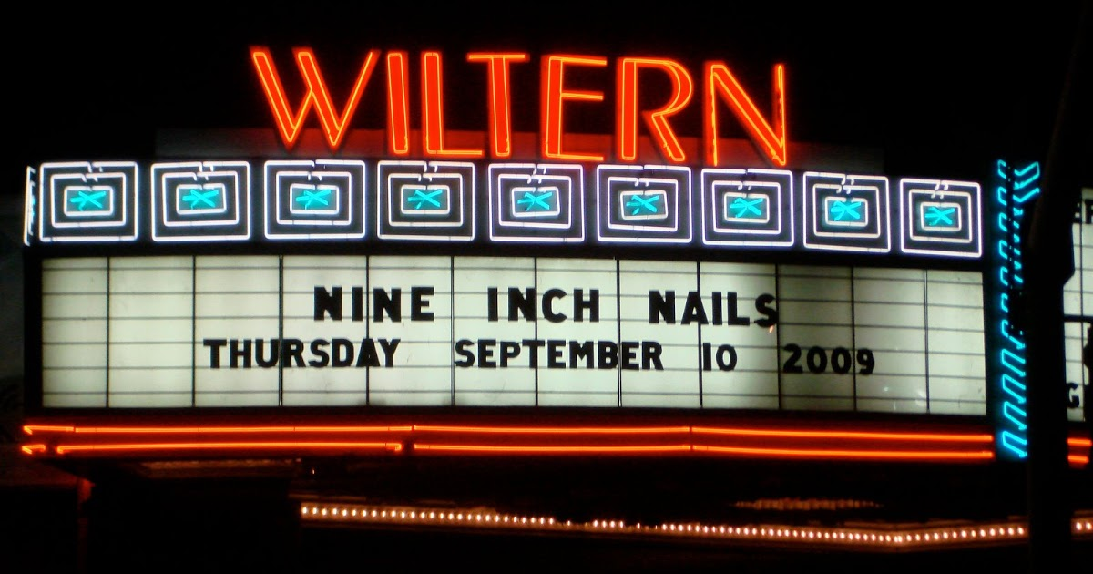 Nine Inch Nails @ the Wiltern in LA (9/10/09) | San Francisco Bay Area  Concerts